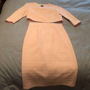 Donna Morgan Pink skirt & top